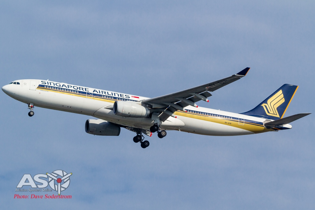 9V-STR Singapore Airlines Airbus A330-300 ASO (1 of 1)