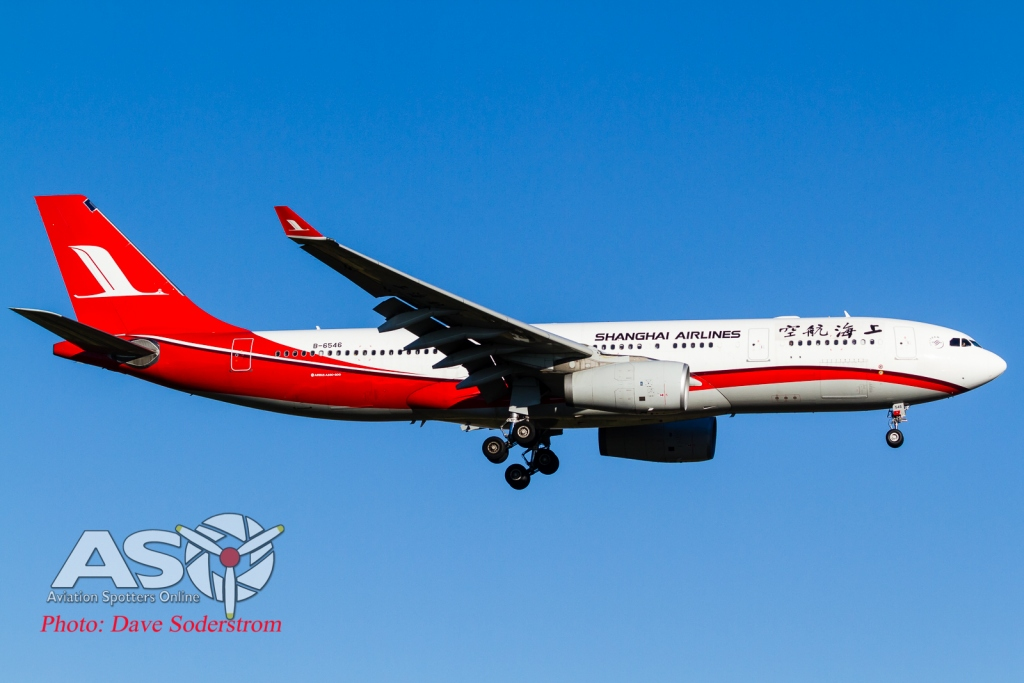 B-6546 Shanghai Airlines A330-200 ASO HR (1 of 1)