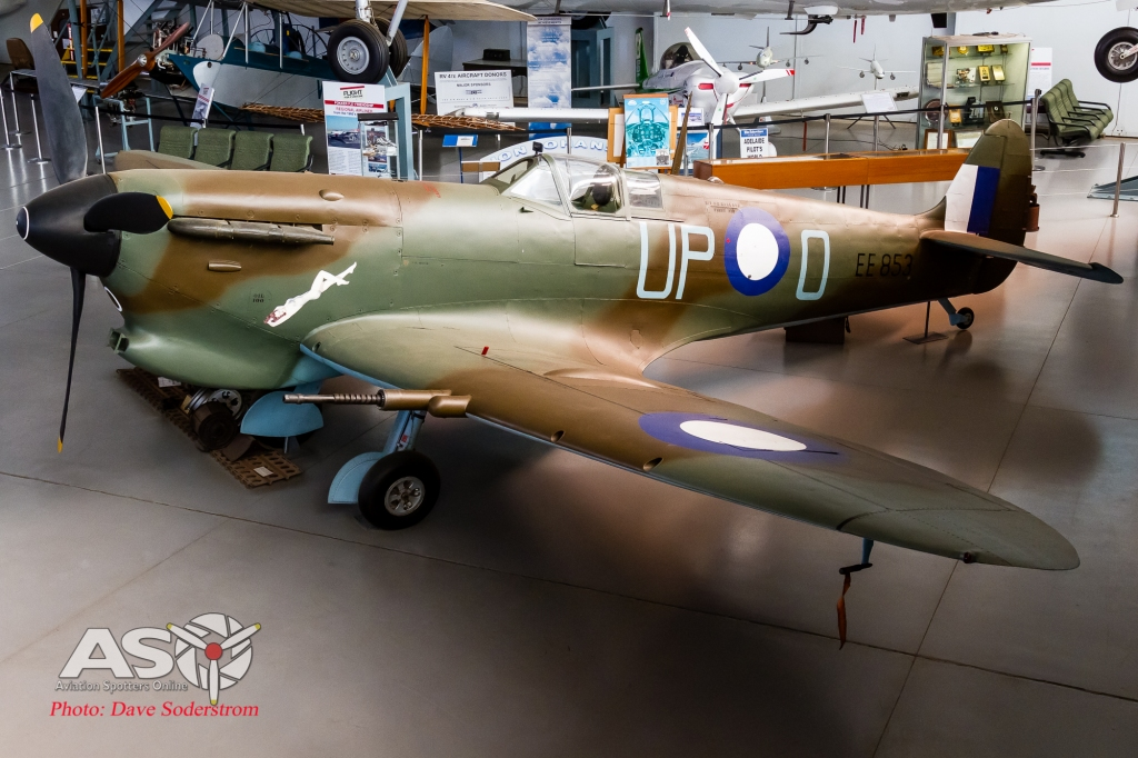 EE853 Supermarine Spitfire Vc SAAM ASO (1 of 1)