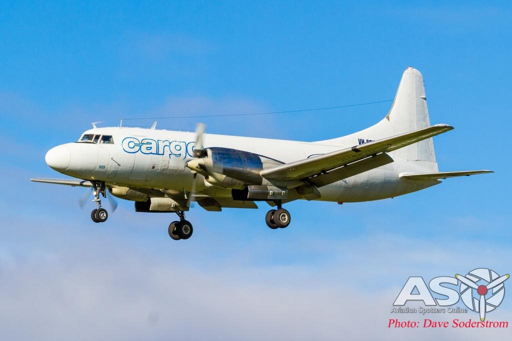 VH-PDW Convair 580 ASO (1 of 1)