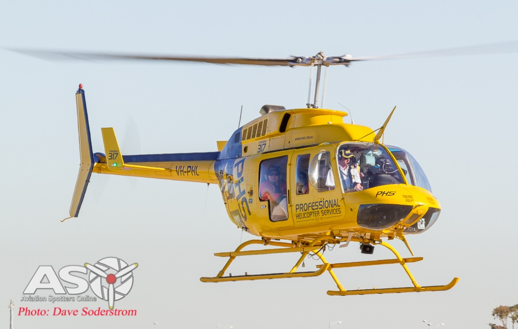 VH-PHL Professional Helicopters Bell 206 ASO (1 of 1)