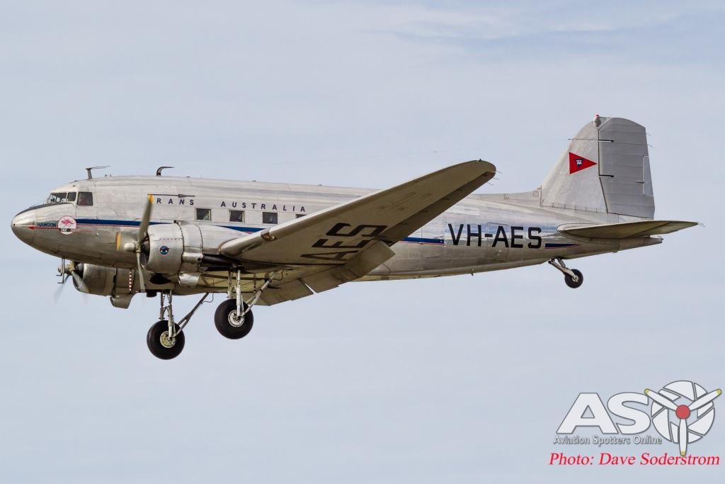 VH-AES TAA Douglas DC-3 Hawdon ASO HR (1 of 1)