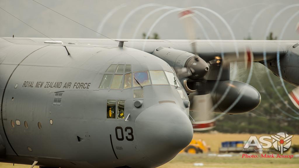 RNZAF C-130H Hercules