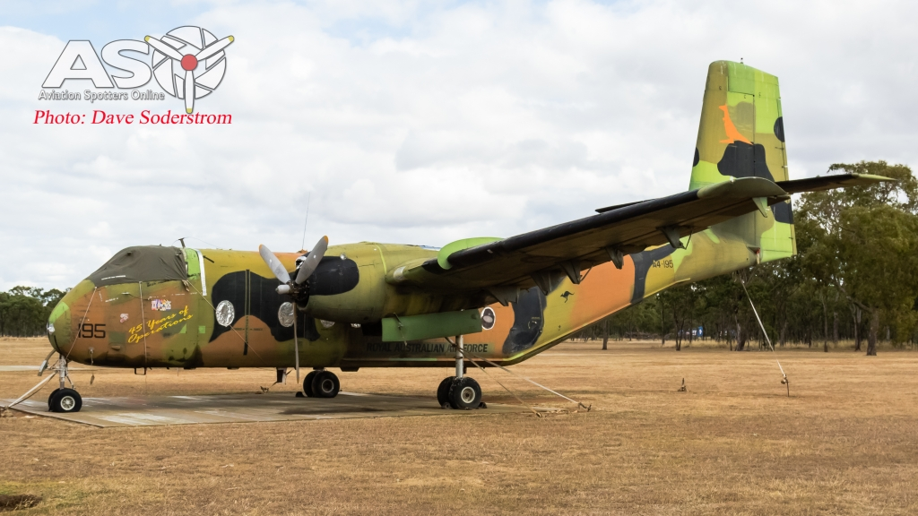 A4-195 RAAF DHC-4 Caribou ASO (1 of 1)