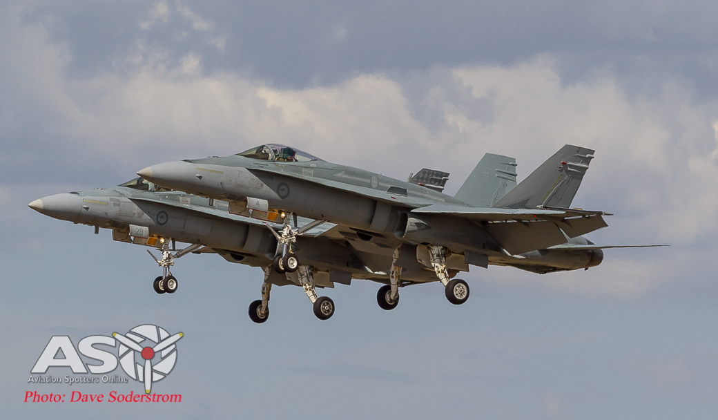 RAAF F-A-18A Hornets ASO 3 (1 of 1)