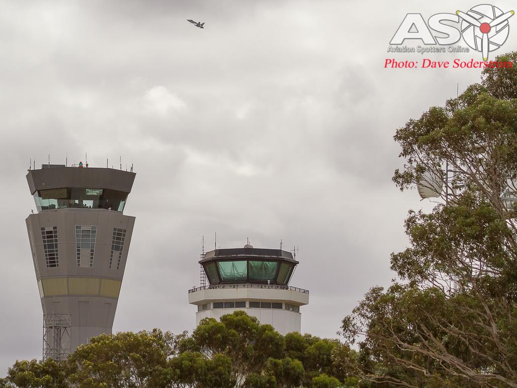 RAAF Hornet Melb Towers (1 of 1)