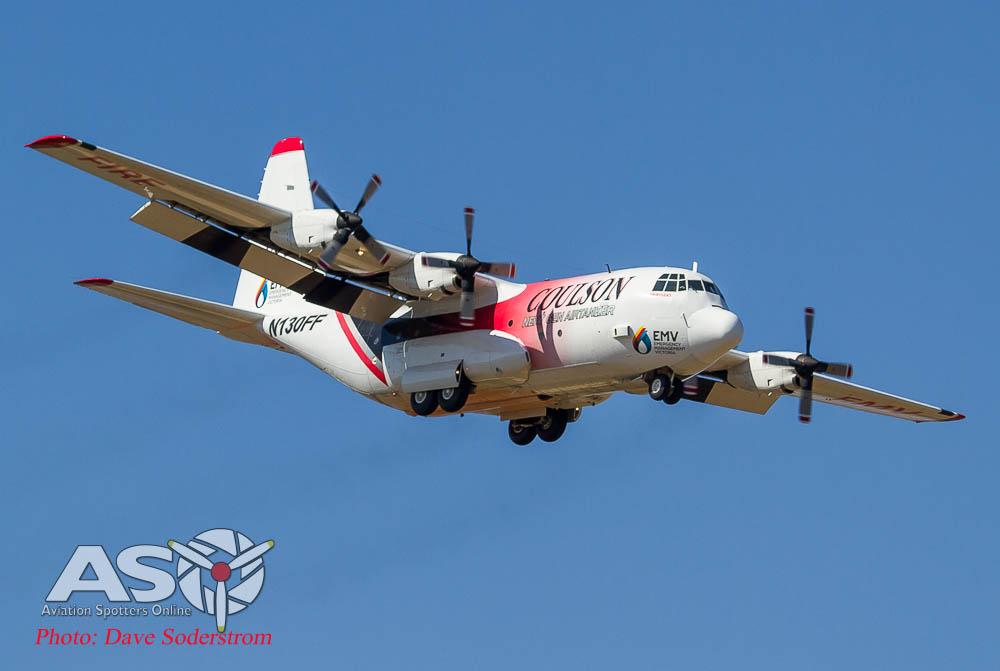 Fire Bomber 390 Landing ASO-2