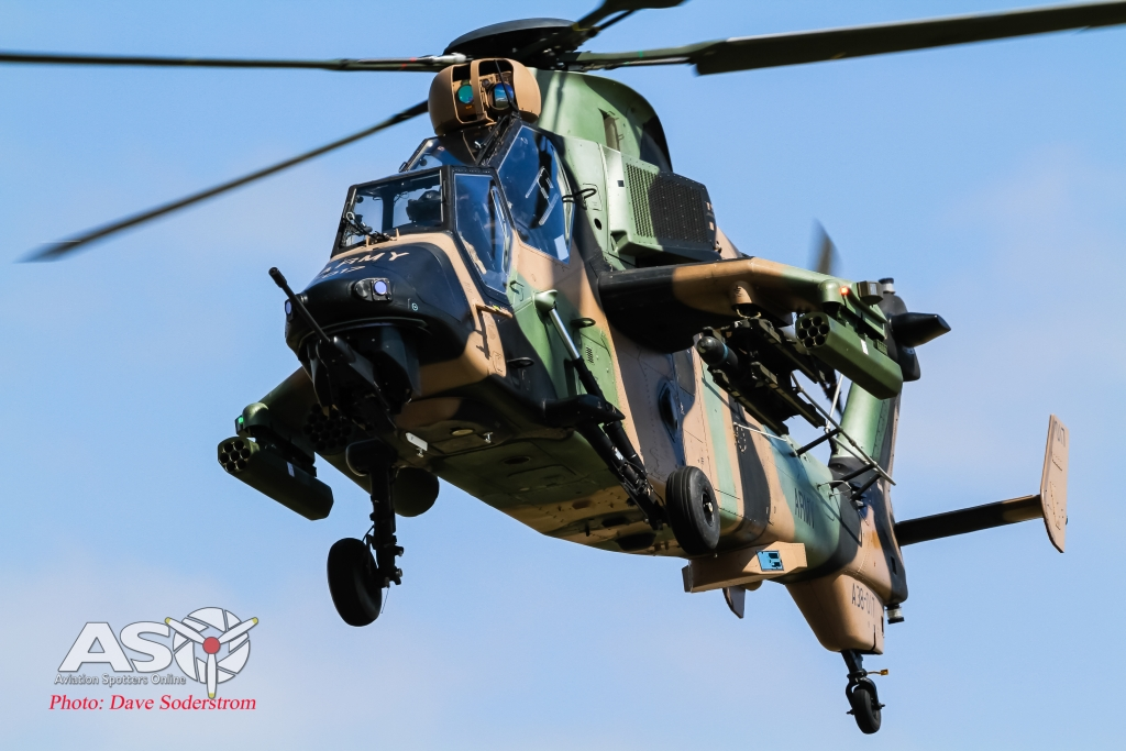 Tiger in the sky - Australian Army Eurocopter Tiger