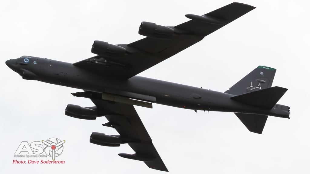 USAF B-52G Avalon 2015 ASO  (1 of 1)