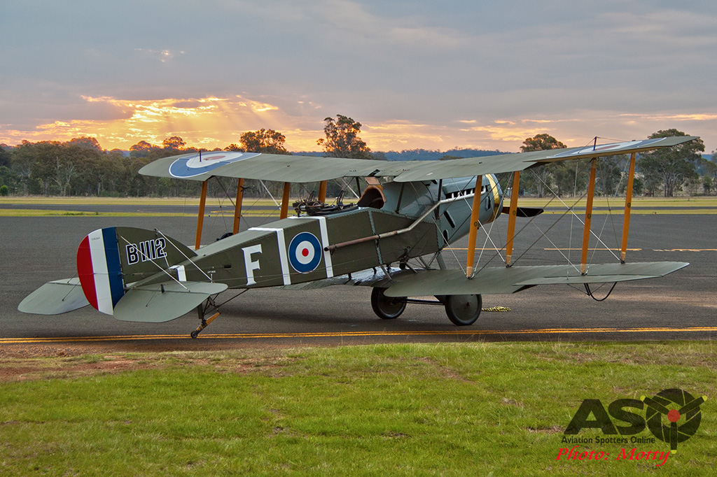 Mottys AWAL Kingaroy 2015 Bristol F2B VH-IIZ 0130