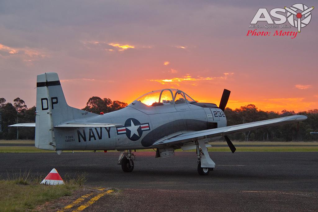 Mottys AWAL Kingaroy 2015 T-28D VH-DPT 0040