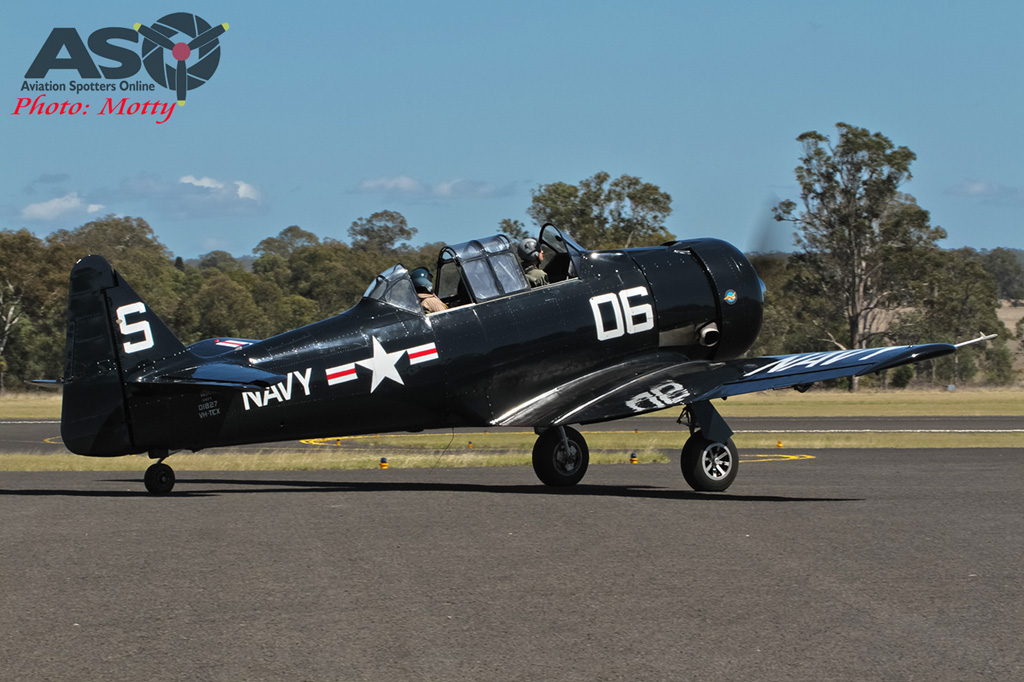 Mottys AWAL Kingaroy 2015 T-6 VH-TEX 0070