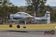 Mottys AWAL Kingaroy 2015 T-28D VH-DPT 0050