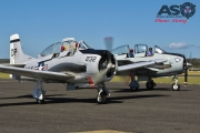 Mottys AWAL Kingaroy 2015 T-28D VH-DPT 0090