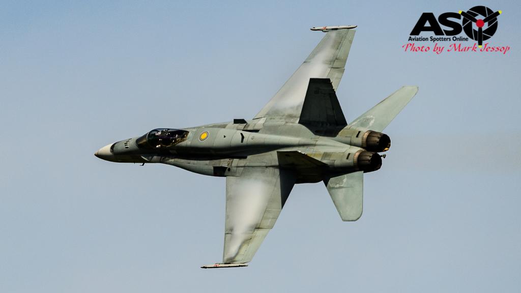 F/A-18A Hornet A21-16 77SQN RAAF Bathurst 1000 Sunday 2016.