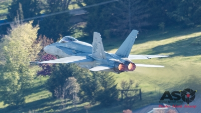 F/A-18A Hornet A21-37 3SQN RAAF Bathurst 1000 Saturday 2016.