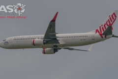 VH-VFF Boeing 737-800 Virgin Airlines