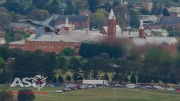 F/A-18A Hornet A21-35 going back over Bathurst.