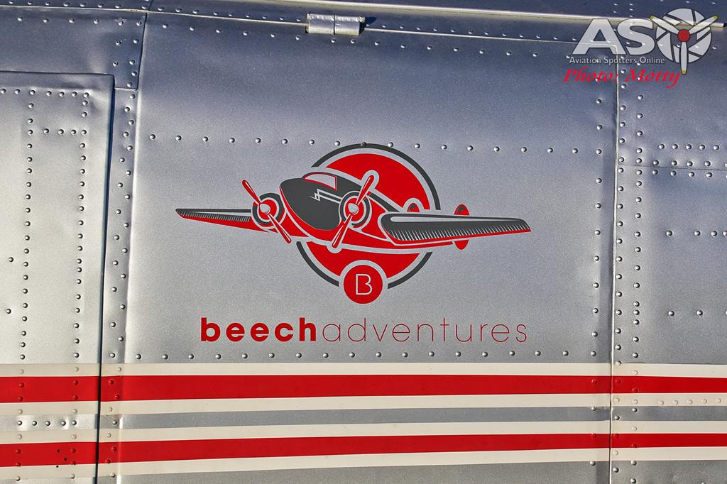 Mottys Beech Adventures Beech-18 VH-BHS 2793 -ASO