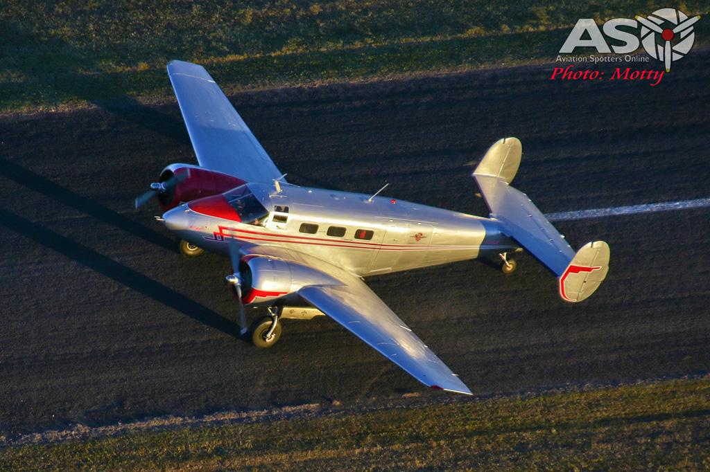 Mottys Beech Adventures Beech-18 VH-BHS 2960 -ASO