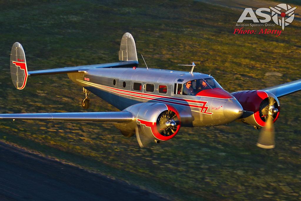 Mottys Beech Adventures Beech-18 VH-BHS 3332 -ASO