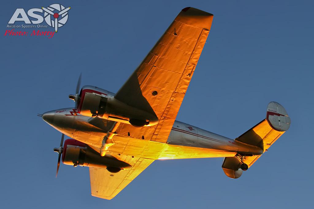 Mottys Beech Adventures Beech-18 VH-BHS 3647 -ASO