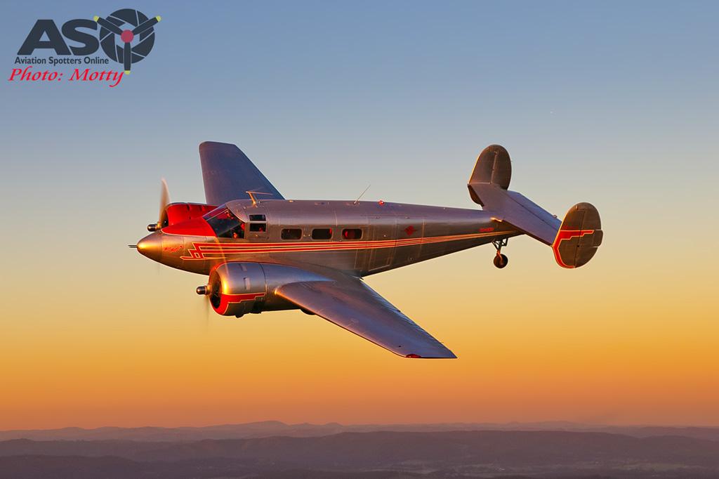 Mottys Beech Adventures Beech-18 VH-BHS 3800 -ASO