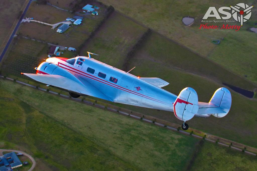 Mottys Beech Adventures Beech-18 VH-BHS 4041 -ASO
