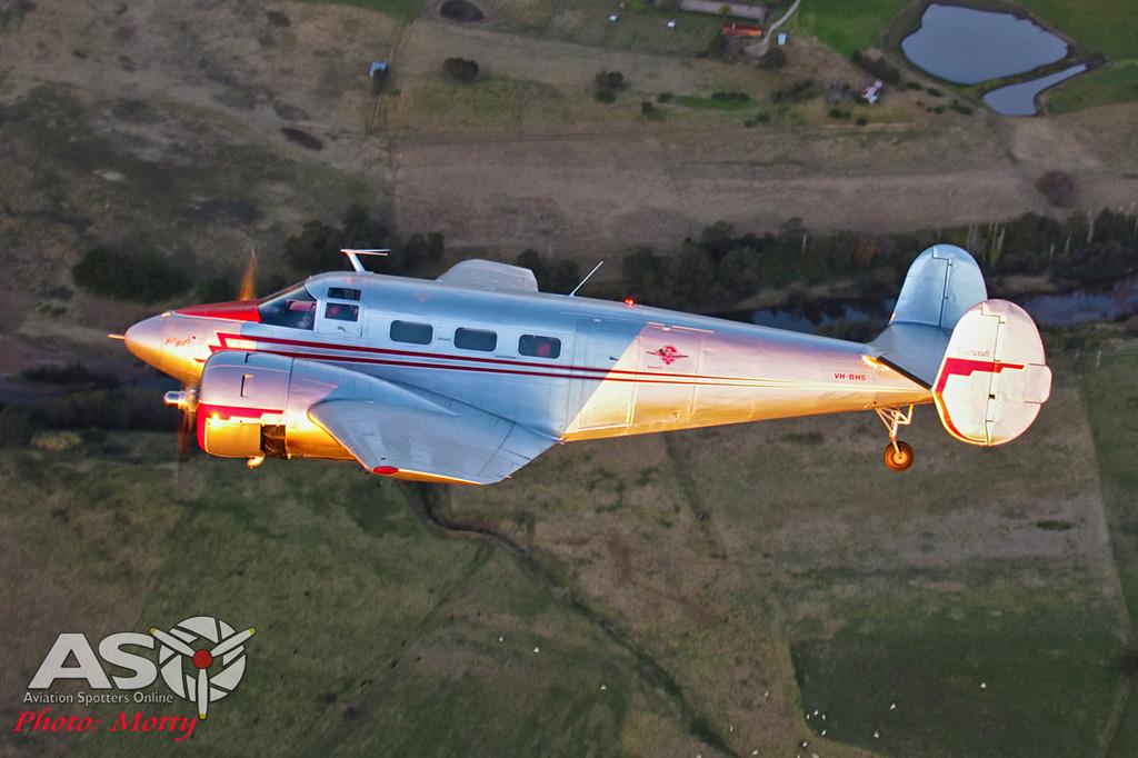 Mottys Beech Adventures Beech-18 VH-BHS 4103 -ASO