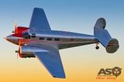 Mottys Beech Adventures Beech-18 VH-BHS 3883 -ASO