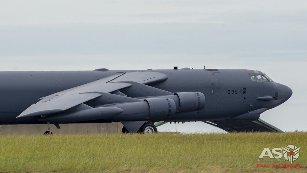 B-52H 61-0035 'Witches Brew'