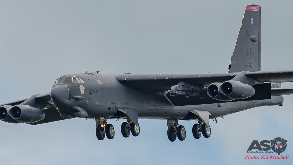 USAF B-52H 60-0060 'Iron Butterfly'