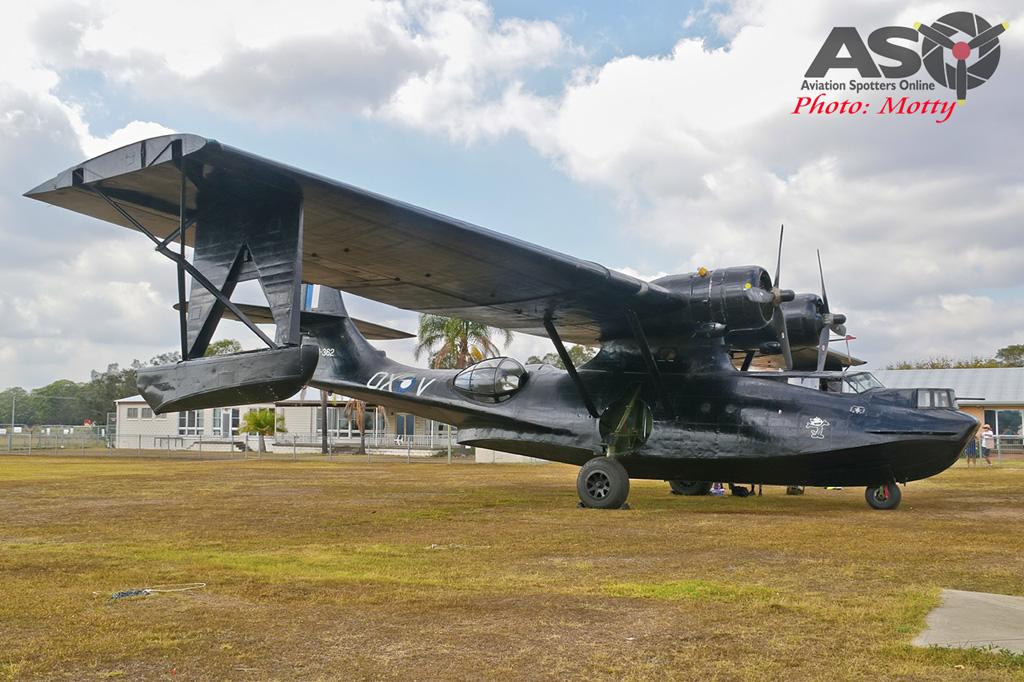 Mottys-HARS Black Catalina Felix VH-PBZ 0038 -001-ASO