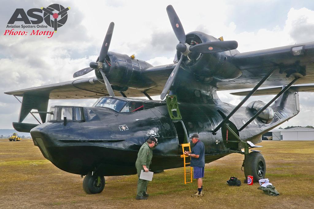 Mottys-HARS Black Catalina Felix VH-PBZ 0069 -001-ASO