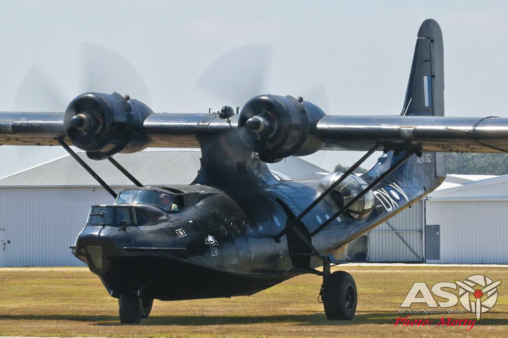 Mottys-HARS Black Catalina Felix VH-PBZ 0405 -001-ASO