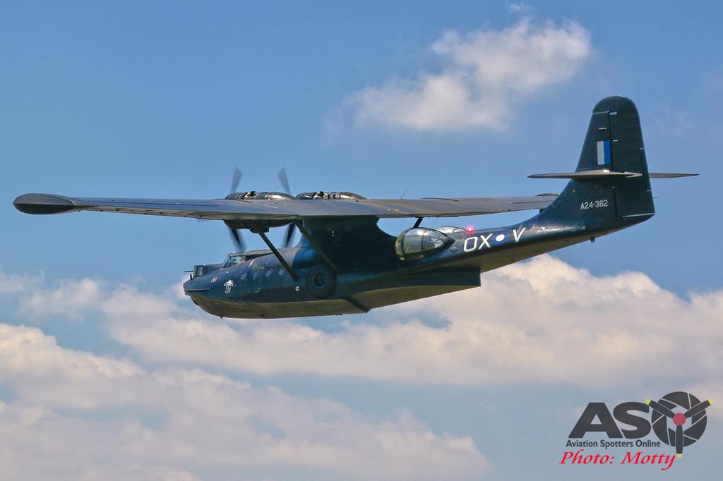 Mottys-HARS Black Catalina Felix VH-PBZ 0521 -001-ASO