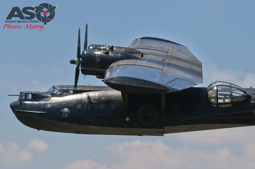 Mottys-HARS Black Catalina Felix VH-PBZ 0595 -001-ASO