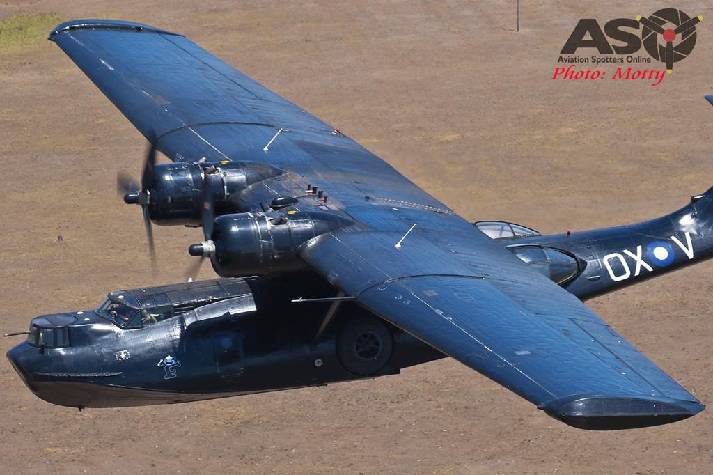 Mottys-HARS Black Catalina Felix VH-PBZ 1382 -001-ASO