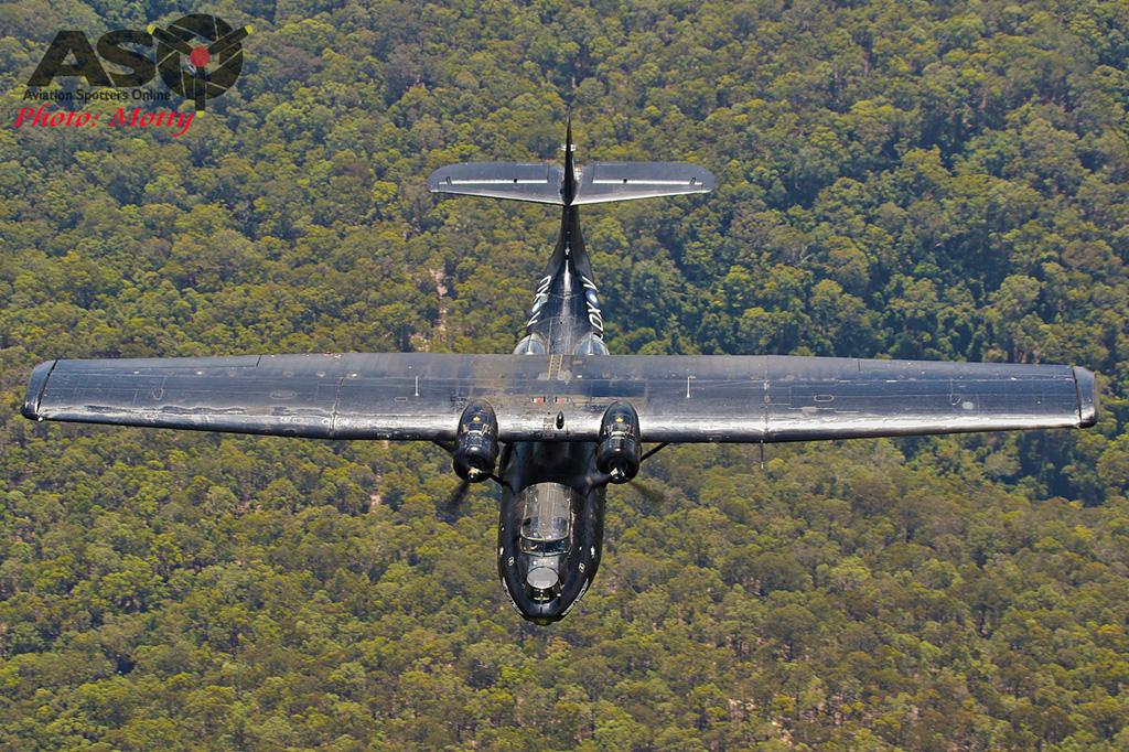 Mottys-HARS Black Catalina Felix VH-PBZ 2507 -001-ASO