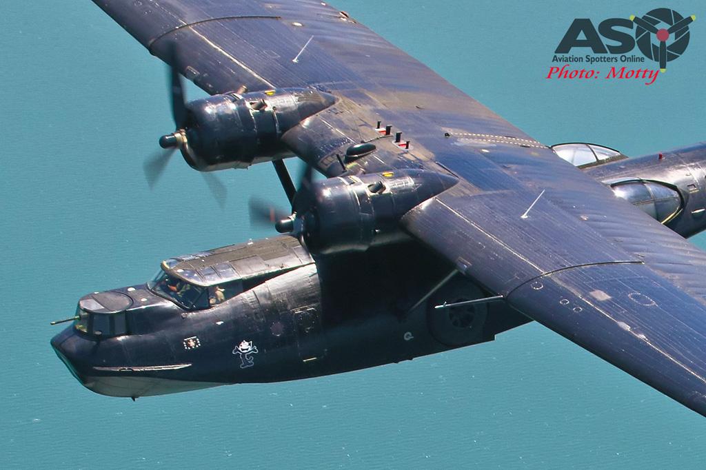Mottys-HARS Black Catalina Felix VH-PBZ 3266 -001-ASO