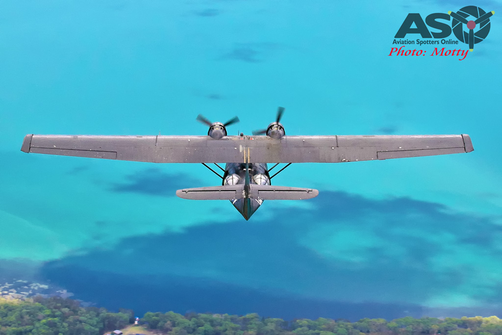 Mottys-HARS Black Catalina Felix VH-PBZ 3400 -001-ASO