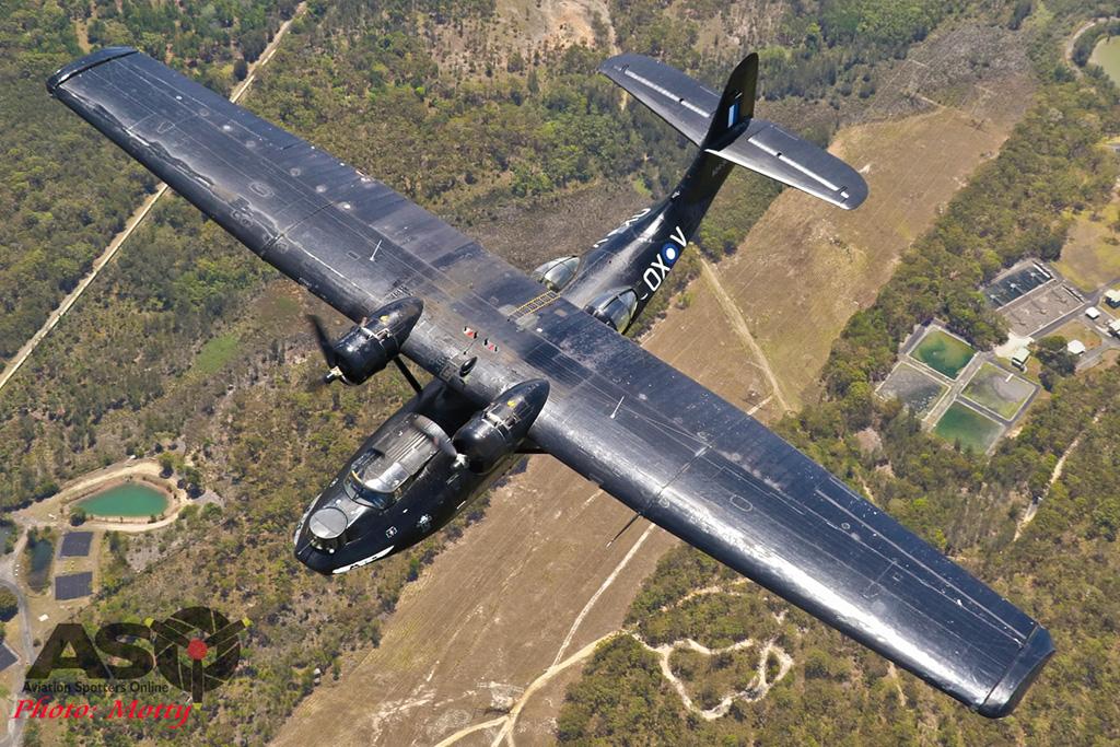 Mottys-HARS Black Catalina Felix VH-PBZ 3766 -001-ASO