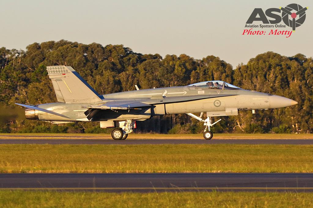 A21-8 75SQN F/A-18A Hornet