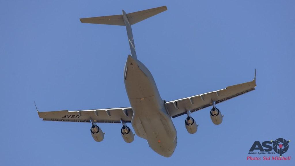USAF C-17A Globemaster III 99-0167 'AK'