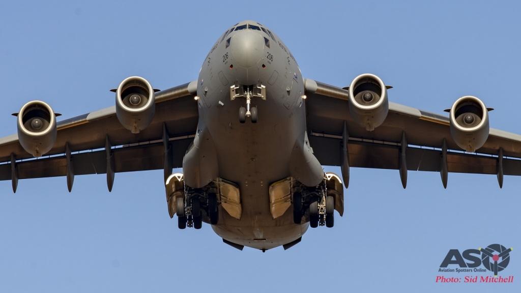 RAAF C-17 Globemaster III A41-206