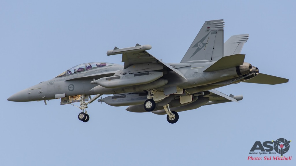 RAAF EA-18G Growler A46-310 from No. 6 Squadron