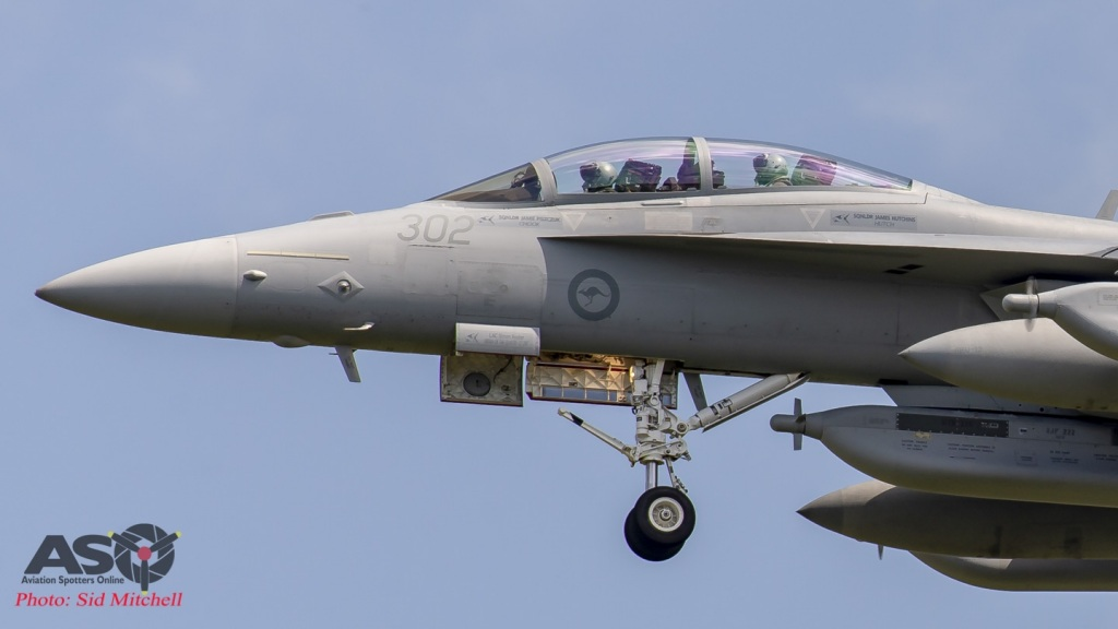 RAAF EA-18G Growler A46-302
