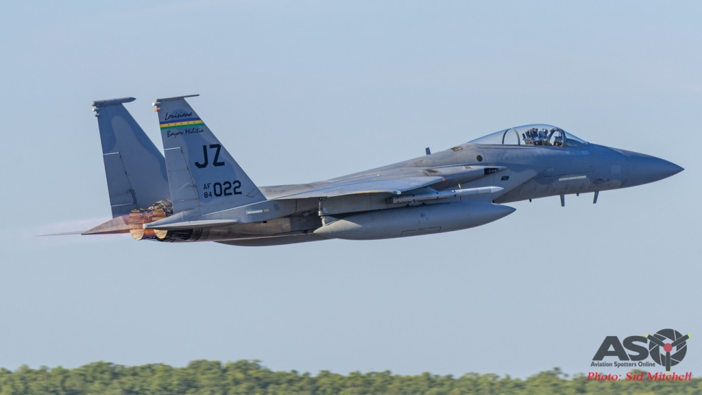 F-15C from 194th FS (borrowed from 159th FW NAS New Orleans)