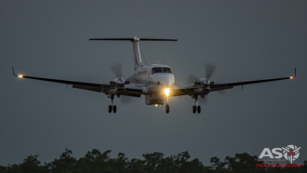 RAAF Beechcraft KA350 King Air A32-673 with ISR pod