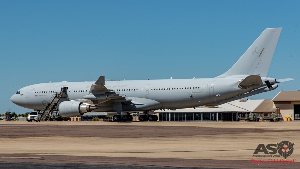 RAAF Airbus KC-30A MRTT A39-004 -Tanker support for Exercise Diamond Storm
